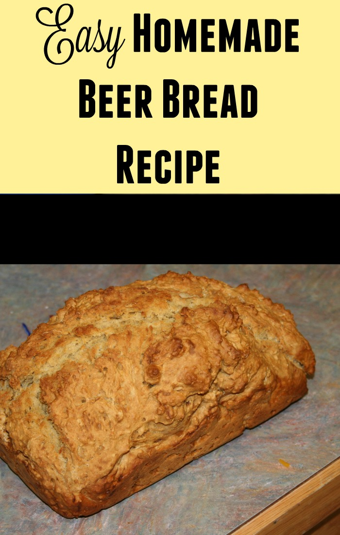 Easy Homemade Beer Bread Recipe