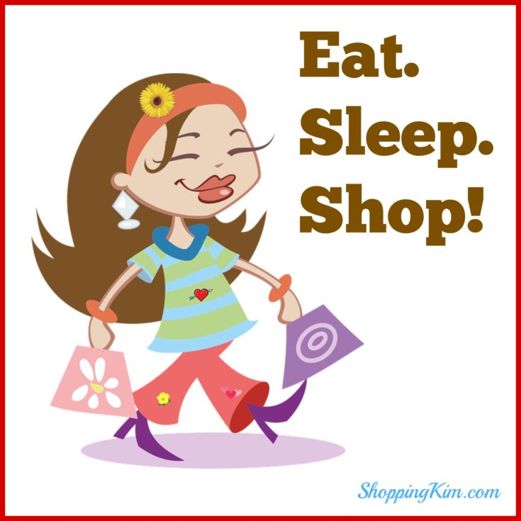 Eat. Sleep. Shop!