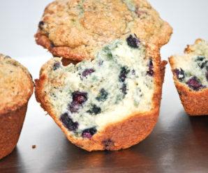 Homemade Blueberry Muffins Recipe