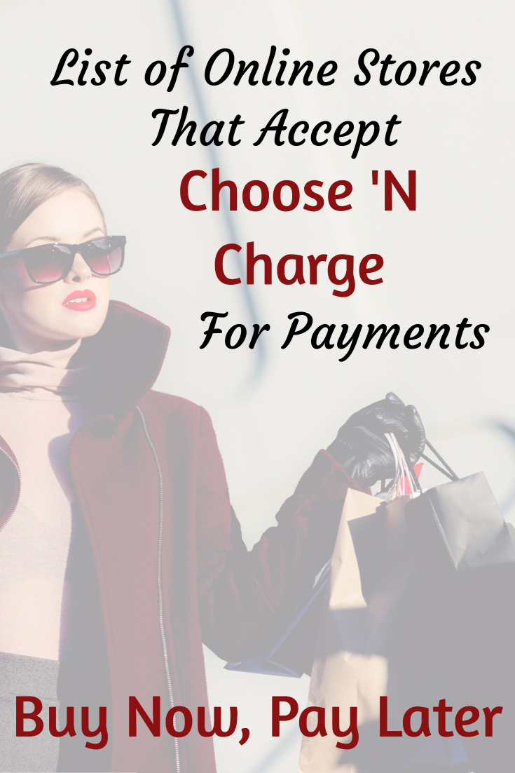 buy now pay later with choose u0027n charge