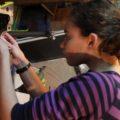 14-year old Girl rebuilds Pontiac Fiero GT