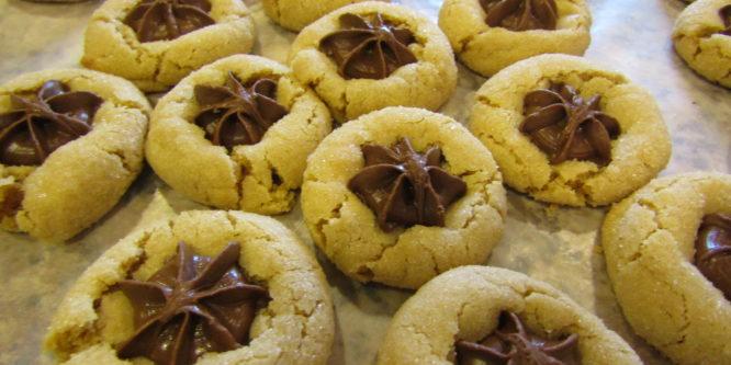 Peanut Butter Star Cookies Recipe