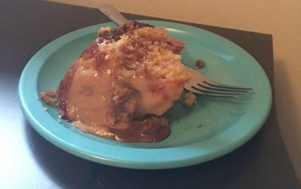 Peanut Butter Crockpot Cake