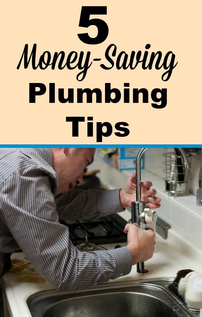 5 Money-Saving Plumbing Tips