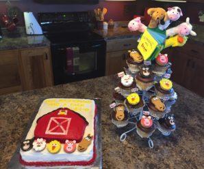 Old MacDonald Had A Farm Barnyard Birthday Party