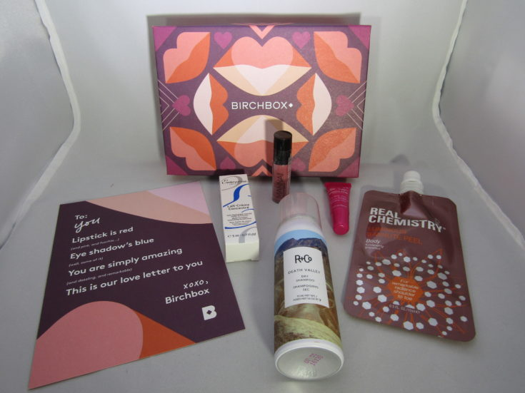Birchbox February 2017 Beauty Box