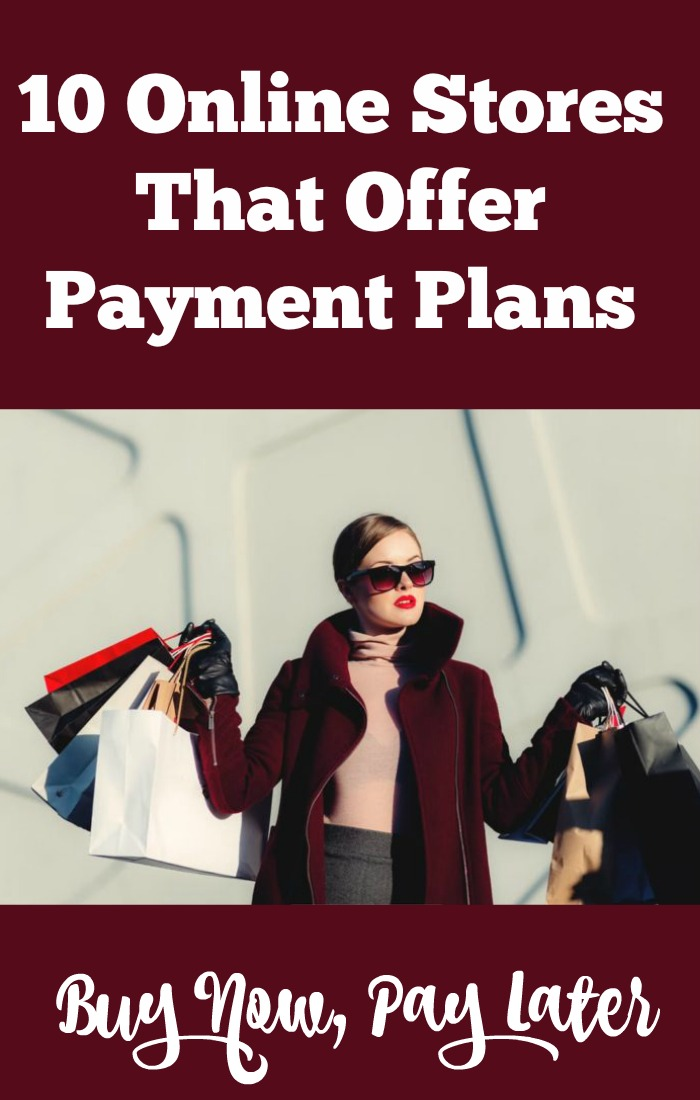 Online Stores That Offer Payment Plans
