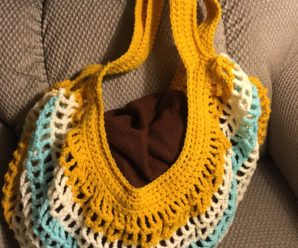 Easy Crocheted Beach Bag Instructions