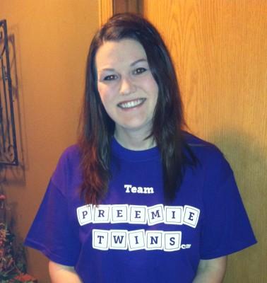 Team PreemieTwins.com Ready to Walk!