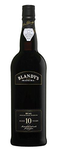 Blandy's 10 Year Bual, Madeira 500 mL Wine