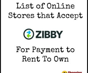 Online Stores that Accept Zibby for Payment to Rent To Own