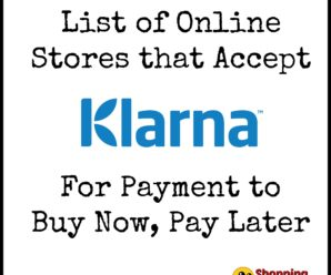 Online Stores That Accept Klarna To Buy Now, Pay Later