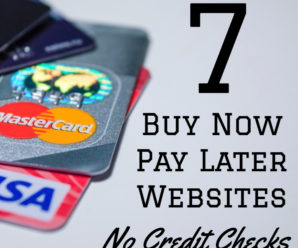 Buy Now Pay Later Sites with No Credit Check