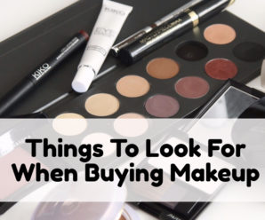 Look For These 6 Things Before You Buy Makeup