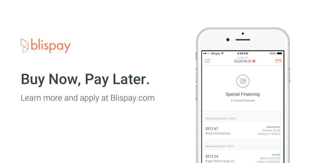 Buy Now, Pay Later with Blispay