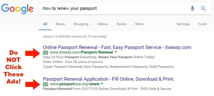 How To Renew Your Passport & What Not To Do