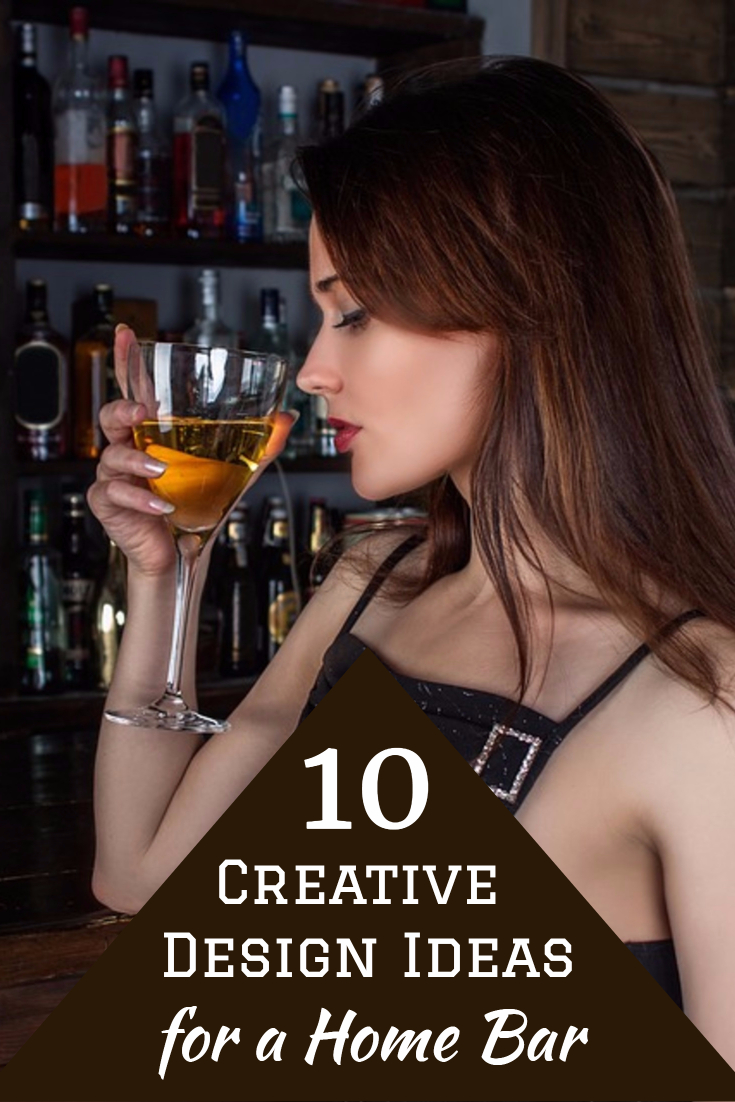 10 Creative Design Ideas for a Home Bar