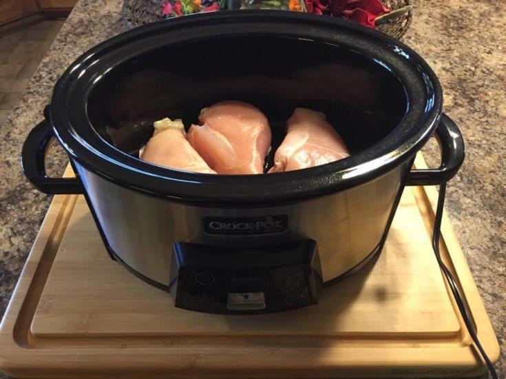 Chicken Breasts in Crockpot
