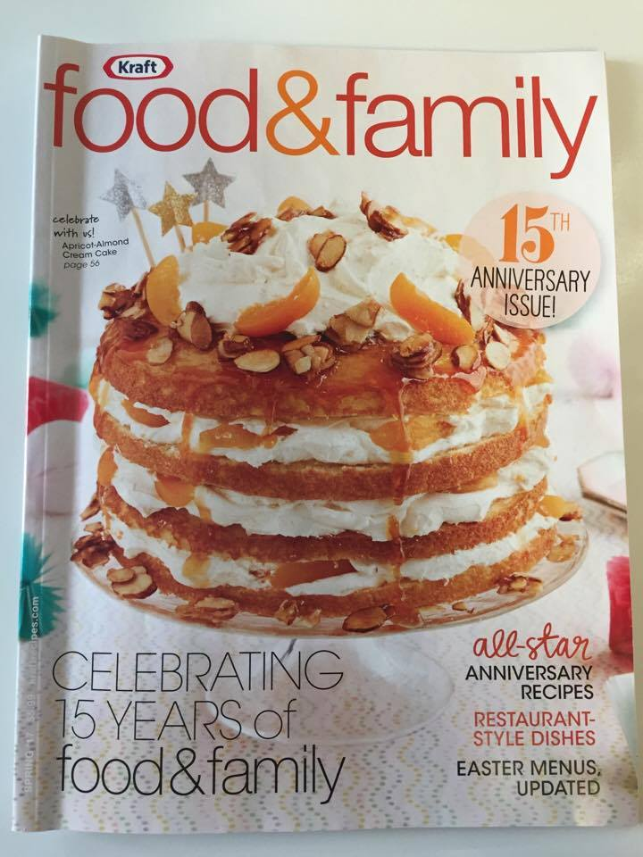 Kraft Food & Family Magazine 15th Anniversary Issue