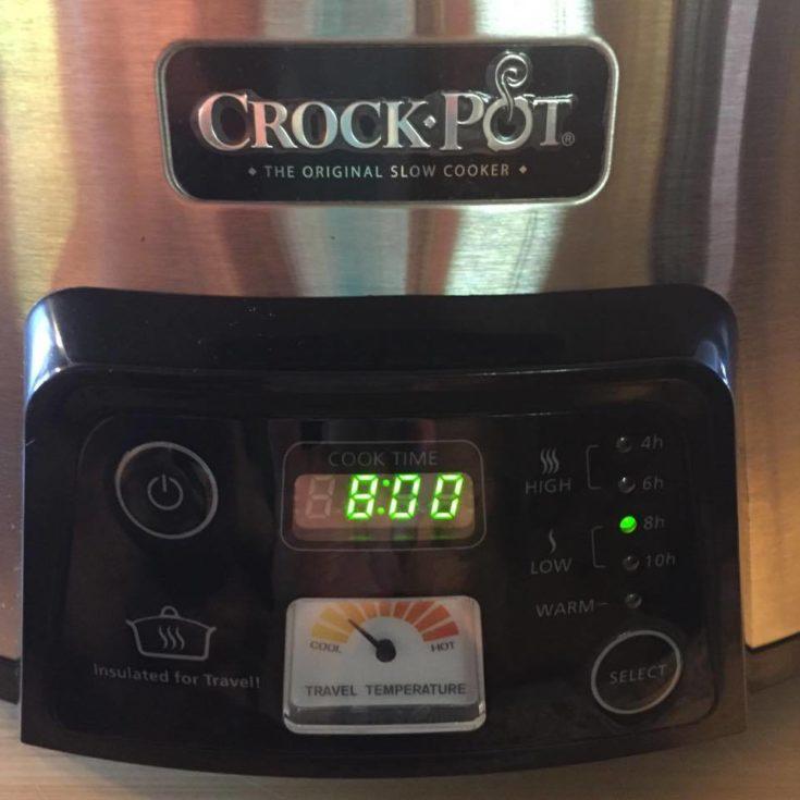 Crock Pot 8 Hours Timer
