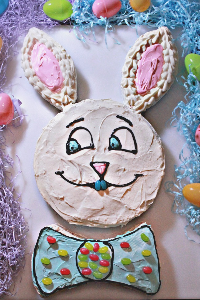 Easter Bunny Strawberry Cake