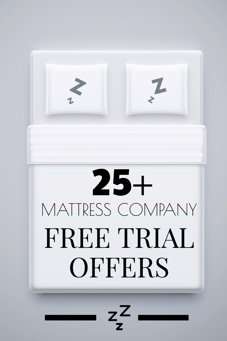 25+ Mattresses with Free Trial Periods