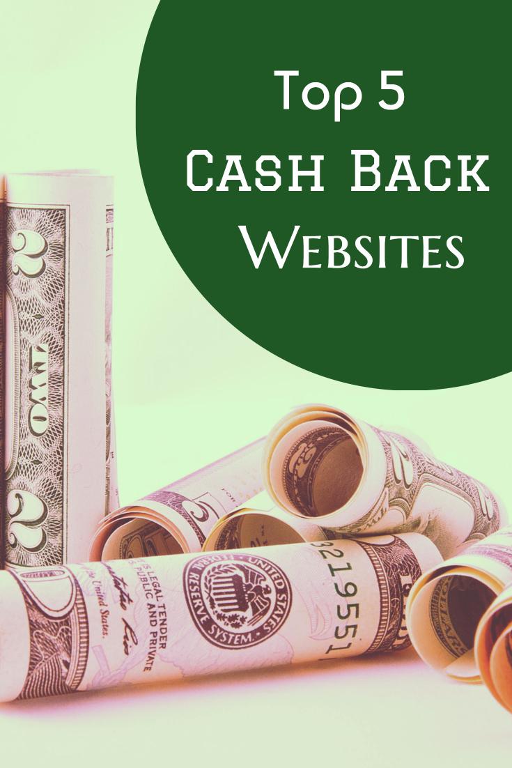 Top 5 Best Cashback Sites