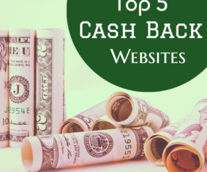 Top 5 Best Cashback Sites