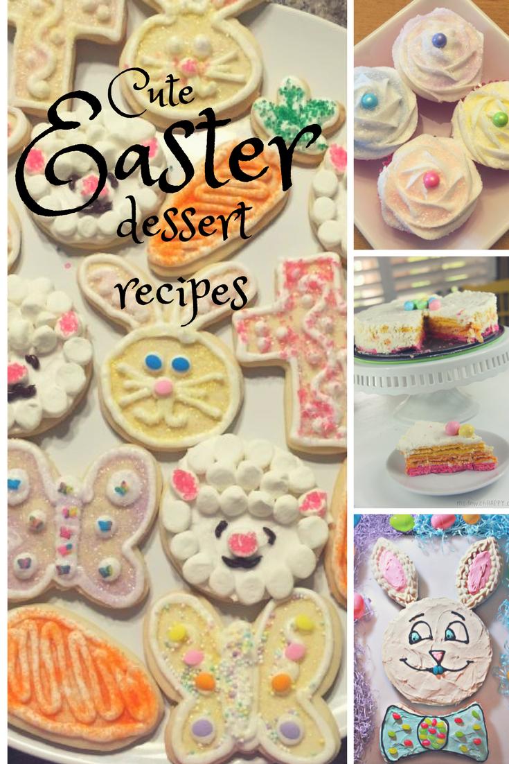 Cute Easter Dessert Recipes