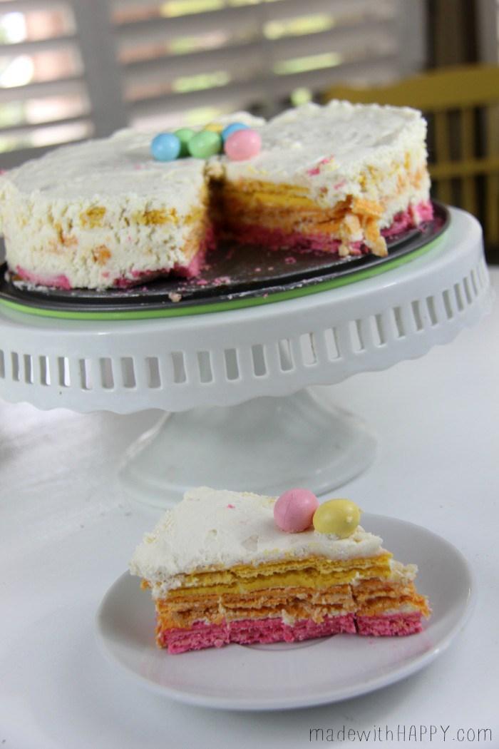 EASTER ICEBOX CAKE