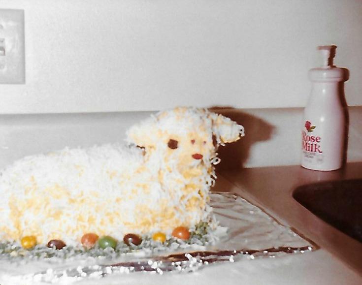 Lamb Cake - Easter 1983