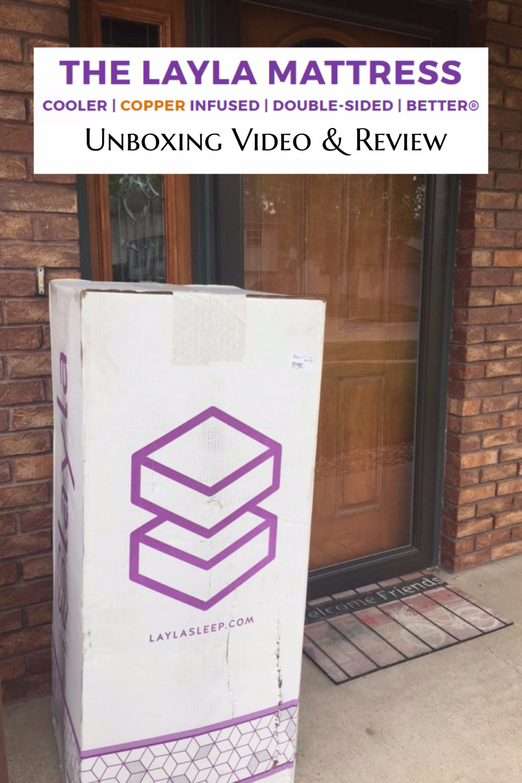 Layla Mattress Unboxing Video & Review