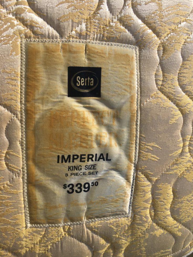 Serta Imperial King Size Mattress