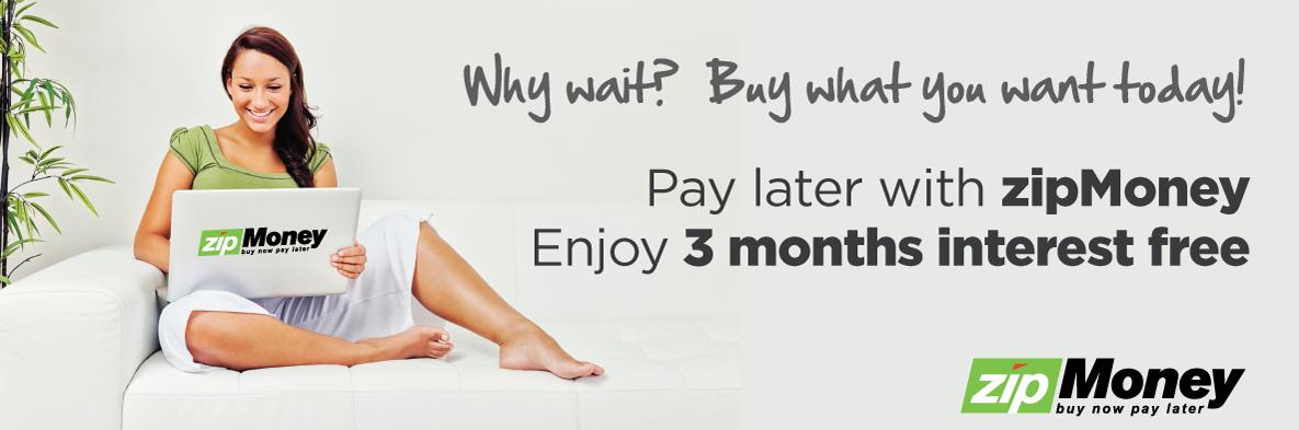 Pay later with zipMoney