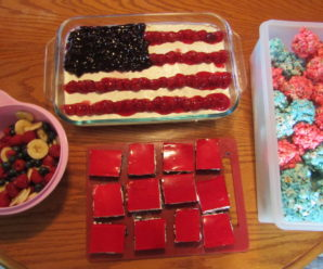 Red, White & Blue Desserts for Independence Day