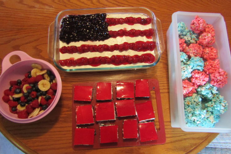 Red, White & Blue Dessert Recipes for Independence Day