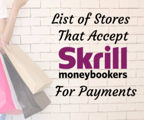 Online Stores That Accept Skrill MoneyBookers For Payment