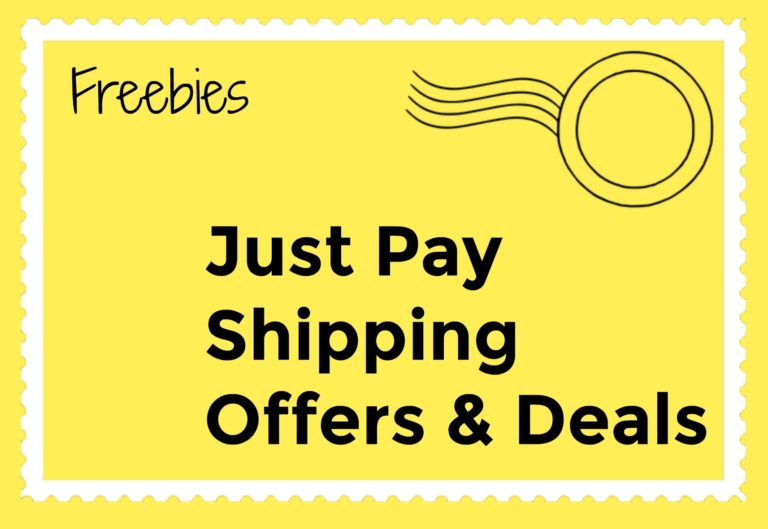 Just Pay Shipping Offers