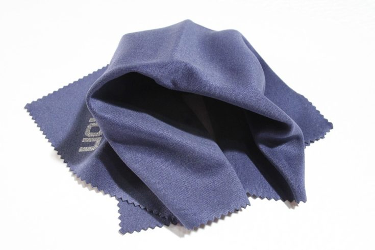 Blue Microfiber Cloth