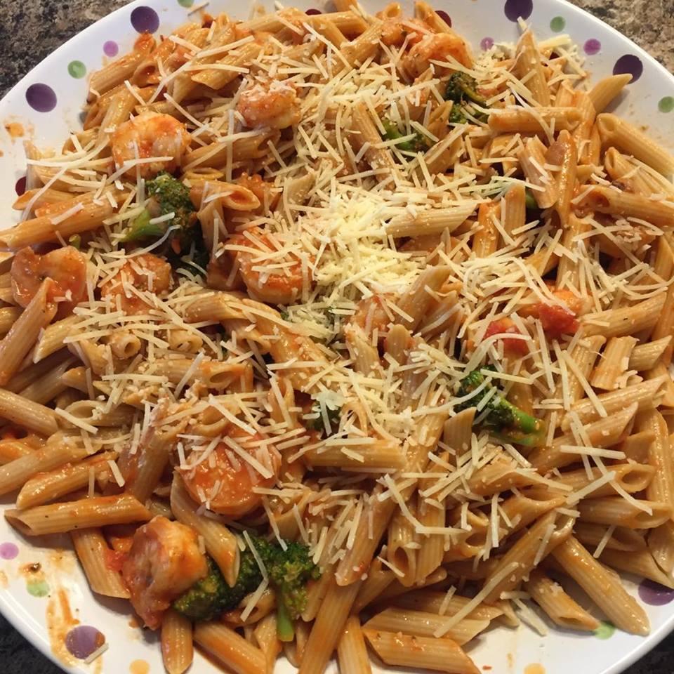Shrimp Broccoli Pasta Stir Fry Recipe Shopping Kim