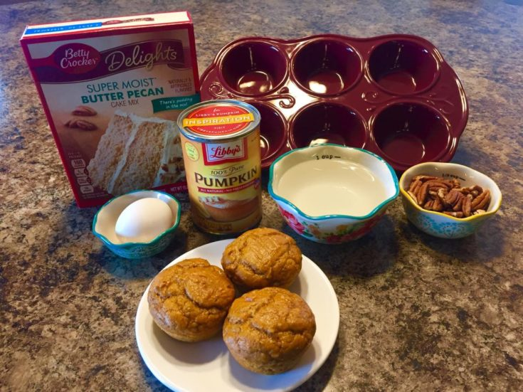 Pecan Pumpkin Muffins