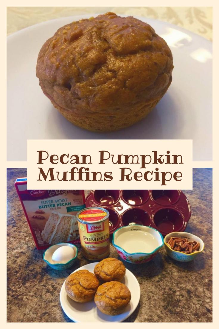 Pecan Pumpkin Muffins Recipe