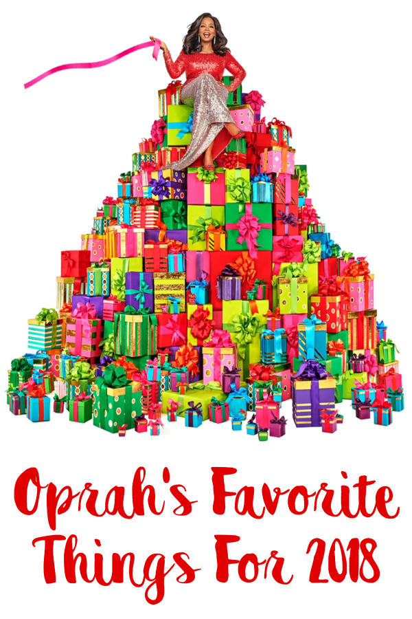 Oprah's Favorite Things For 2018