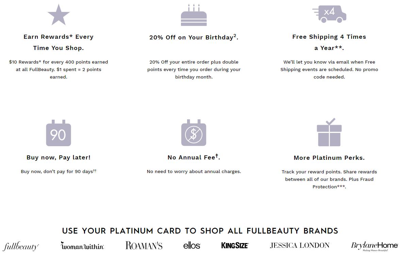 FullBeauty Brands Platinum Card Perks