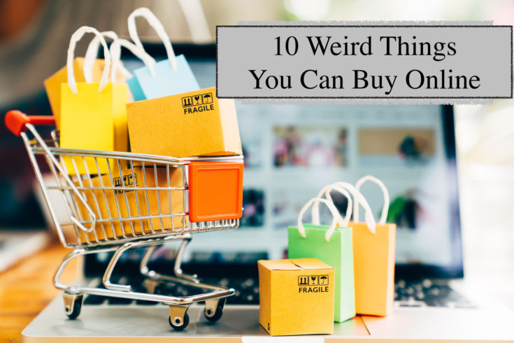 10 Wonderfully Useful Yet Weird Things You Can Buy Online