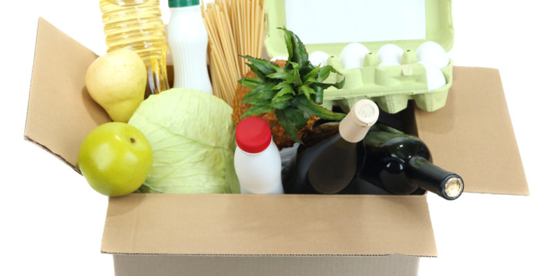 boxed groceries