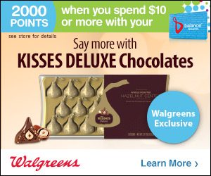 #SayMore with KISSES DELUXE Chocolates at Walgreens (plus bonus rewards offer)! #ad