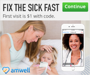 See A Doctor For Only $1 At AmWell