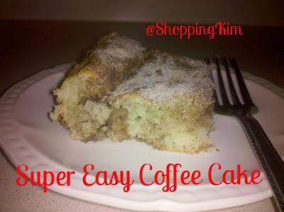 Super Easy Coffee Cake Recipe