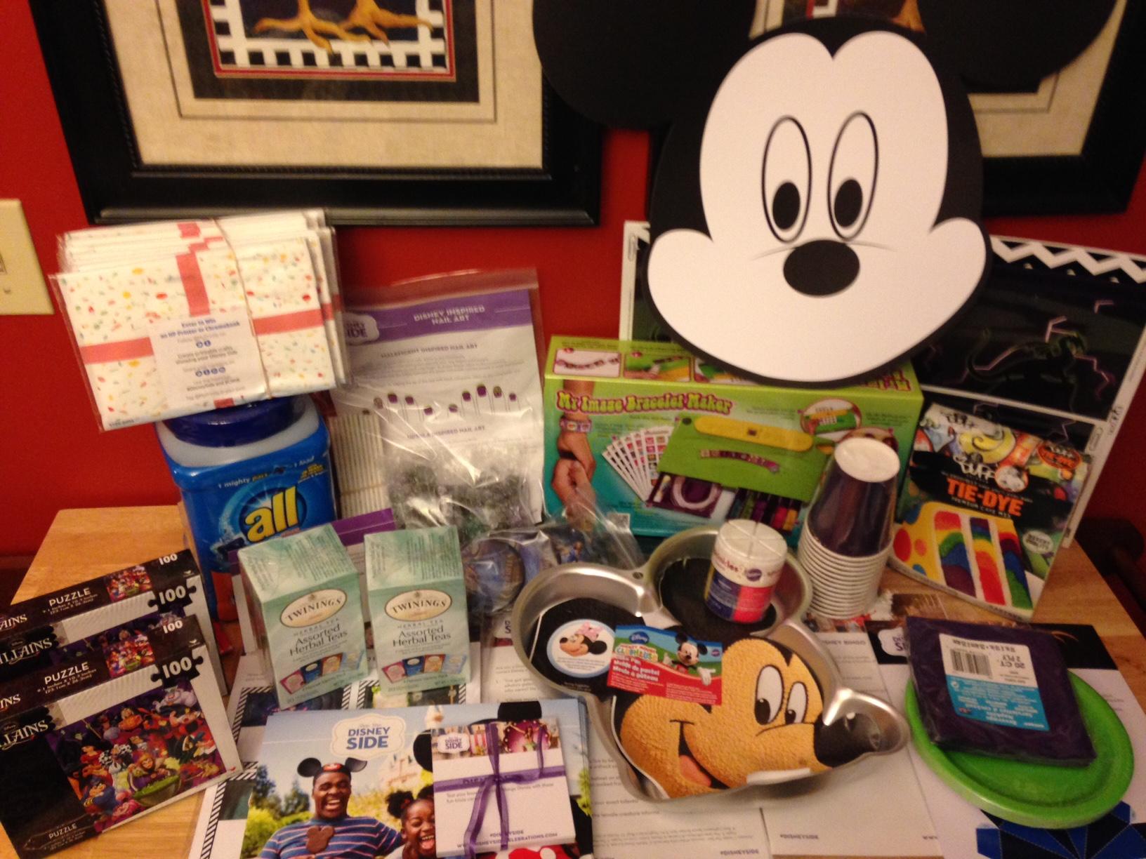 #DisneySide @Home Celebration Villain Party Kit Arrived. Let The Party Planning Begin!